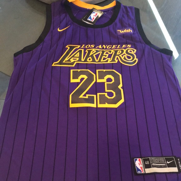 timeless design aaba5 e334a LA Lakers Lebron James Jersey NWT